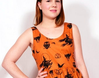 Classic Halloween Dress MADE TO ORDER