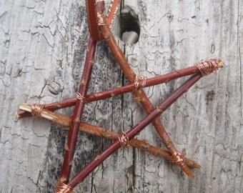 STAR Stick Ornament  Smaller size COPPER wire