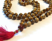 Make Your Own Gemstone Mala Beads Kit - Gemstone Beads and Full Instructions