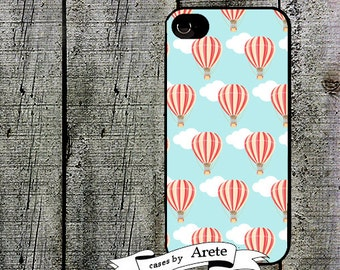 Colorful Hot Air Balloon Phone Case for iPhone 4 4s 5 5s 5c SE 6 6s 7  6 6s 7 Plus Galaxy s4 s5 s6 s7 Edge
