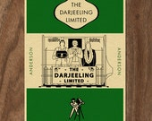 The DARJEELING LIMITED Penguin Book Cover-inspired Print