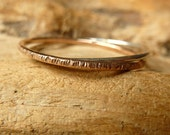 Better Together Rings - 14K Rose Gold/Silver
