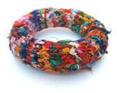 Knitted Silk Bracelet