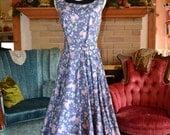 Vintage Laura Ashley Garden Party Dress
