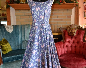 Vintage Laura Ashley Garden Party Dress
