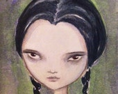 Wednesday Addams, original painting