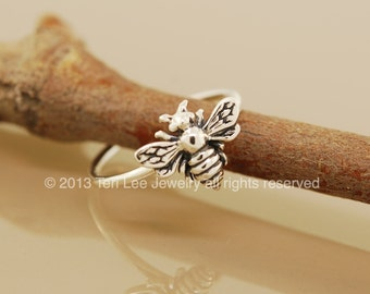 Bee Happy Stack Ring