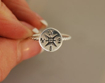 Compass Rope Ring  2 Original