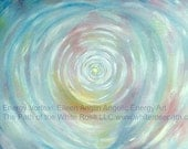 10 x 8 Giclee Energy Vortex Angelic Energy Art Print by Eileen Anglin