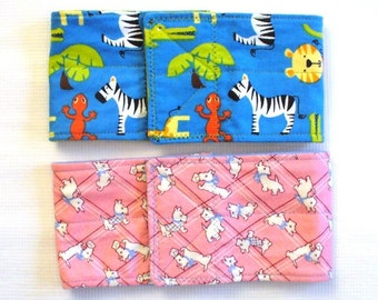 "2 pkg Dog Belly Bands  READY TO SHIP 17"" waist size x 4"" wide"