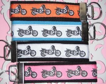 Motorcycle Key Fob-Choose Color