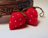 Red Velvet Strawberry Charm