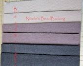 Nicole's BeadBacking 12x9 Double Colors NBB  Bead Embroidery Soutache Beading