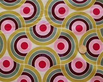 Alexander Henry Bauhaus Sage Berry OOP Fabric - Half Yard
