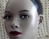 African Beauty Glamour Girl Mannequin Head On Sale