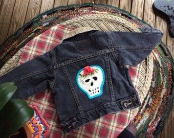 Biker Baby Skull Jacket