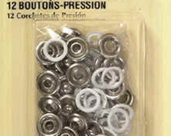 Dritz - SNAP FASTENERS - 12 Ct. - Size 15