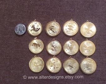 Pisces Necklace Zodiac Necklace February Birthday Necklace Horoscope Necklace