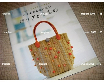 Japanese Craft Book Sewing Patchwork Bags Purses Totes