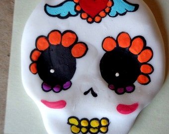 sugar skull cabs for your day of the dead crafts