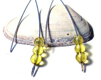 Topaz V Style Earrings