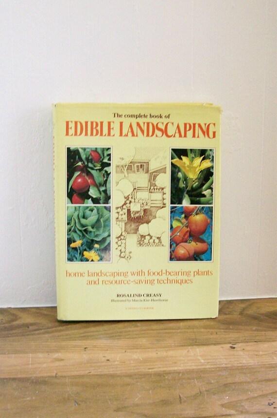 Gardening book edible landscaping rosalind creasy for Garden club book by blackbird designs