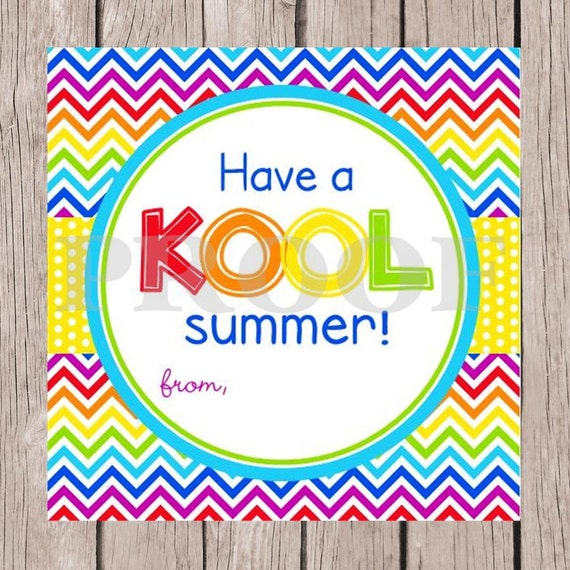 Sizzling image for have a kool summer printable