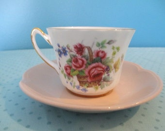 Shabby Chic Mix and Match English Teacup