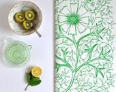 Custom order for POlney  1 x Green Filigree Design