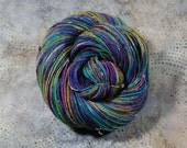 "Bits and Bobs Tweed yarn - ""The Big O""    (superwash sock weight) 438 yards 100 grams"