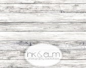 "Vinyl Backdrop 3ft x 2ft Old Wood Floor, Vinyl Photography Wood Floor or Backdrop, Old vintage white wood background floor drop, ""Rupert"""