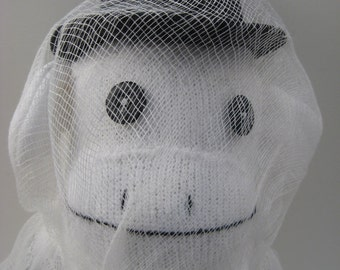 Jacob Marley sock monkey ghost -MADE TO ORDER