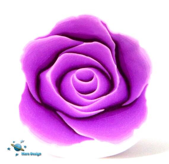 violet de canne argile polym re rose canne par mars. Black Bedroom Furniture Sets. Home Design Ideas