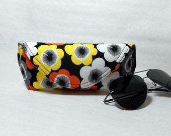 Eyeglass Case or Sunglass Case Large - Pop of Poppies