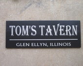 Custom Bar Sign, Wood Sign, Groomsmen gift, Fathers Day Gift, Game room, Pub Sign, Personalized  groomsmen gift Wedding Sign
