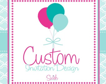Custom Invitation Announcement Design - Digital