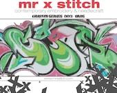 Graffiti Cross Stitch #003 - Caos