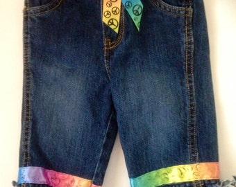 Baby Couture Hippie Blue Jeans