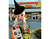 halloween obsessed shopper doll print aceo size SWAG HAG