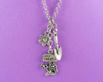 Gardening Charm Necklace