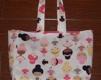 Ballerina book bag
