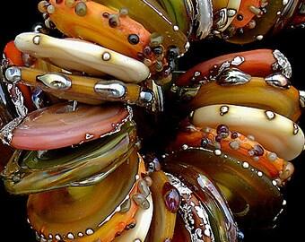DSG Beads Handmade Organic Lampwork Glass - Made To Order (October)