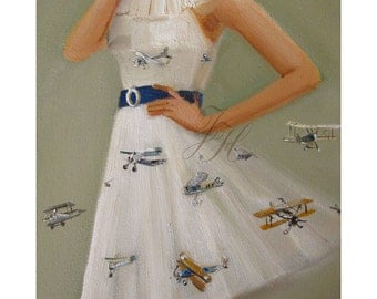 Fly The Friendly Skies Dress- Limited Edition Print