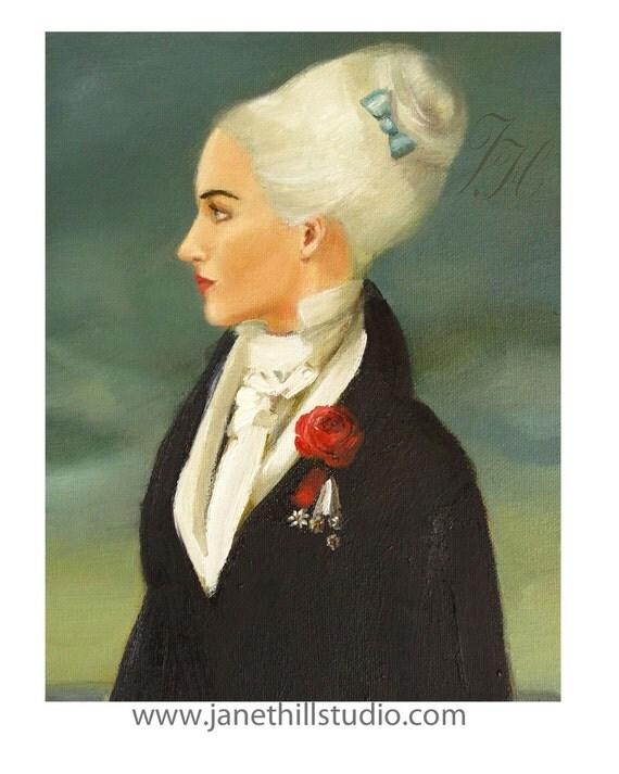 Portrait. Orlando. Art Print