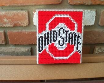 OHIO STATE Tissue Box Cover