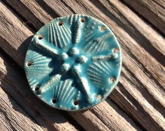 Shell Embossed Pine Needle Basket Base
