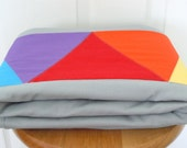 Rainbow Triangle Quilt