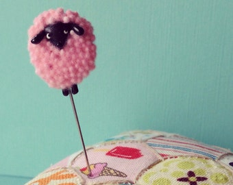 Sheepy Peep Springtime Lamb Pin Topper