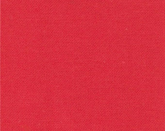 Scrumptious Moda Bella Solids quilt fabric by Fabric Shoppe- Premium Solid quilting cotton-Betty's Red