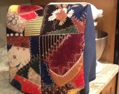 KitchenAid Stand Mixer Cover Crazy Quilt fabric Kitchen Aid with One Pocket